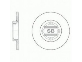 Тормозной диск SD3010