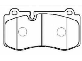 Колодки тормозные дисковые передние, комплект HP9906                      HSB