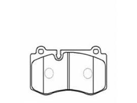 Колодки тормозные дисковые передние, комплект HP5147                      HSB