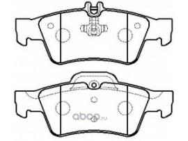 Колодки тормозные дисковые задние, комплект HP5194                      HSB