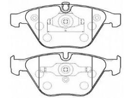 Колодки тормозные передние HP5196                 HSB