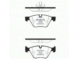 Колодки тормозные передние SP2159