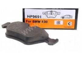 Колодки тормозные передние HP9691                 HSB