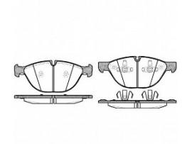 Колодки тормозные дисковые передние, комплект 21298.00               ROADHOUSE