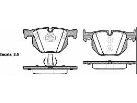 Колодки тормозные дисковые задние, комплект 2381.61                ROADHOUSE