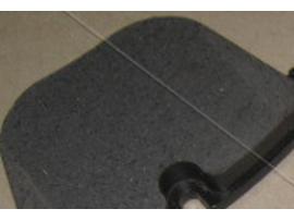 Колодки тормозные задние дисковые, комплект SP2164