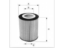 Фильтр масляный двигателя OE 649/8            FILTRON