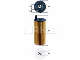 Фильтр масляный двигателя OX 404 D