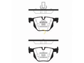 Колодки тормозные дисковые, комплект SP2157