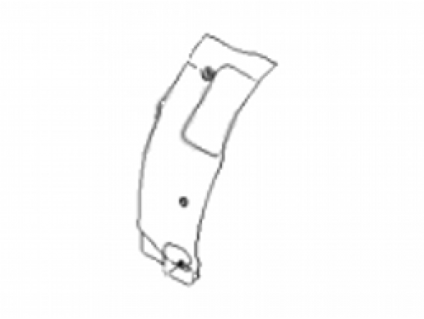 Подкрылок задний левый, передняя часть 86823-3X000
