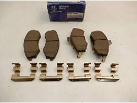 Колодки тормозные передние 58101-3MA10