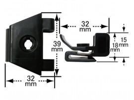 Заклёпка подкрылка 53879-30040