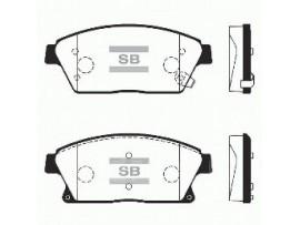 Колодки тормозные дисковые, комплект SP1480