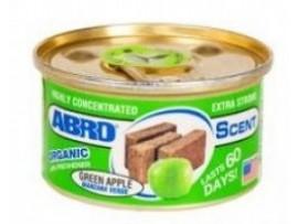"""Освежитель воздуха """"Органик"""" (зеленое яблоко) AS560GA                     ABRO"""