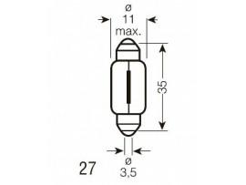 Лампа освещение 6461                      (OSRAM)